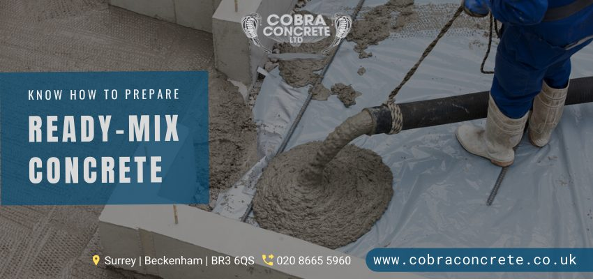 ready mix concrete in Sidcup