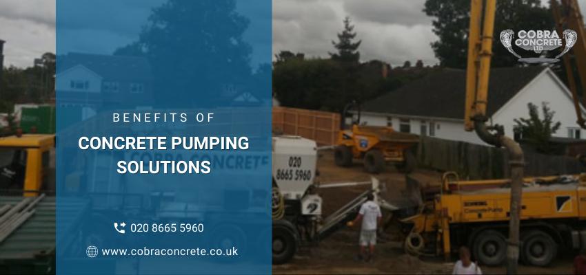concrete pumping solutions