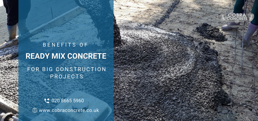 ready-mix concrete in Croydon